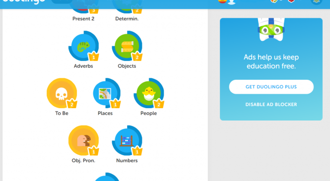 Chrome Extension to Reinstate Skill Strength on Duolingo